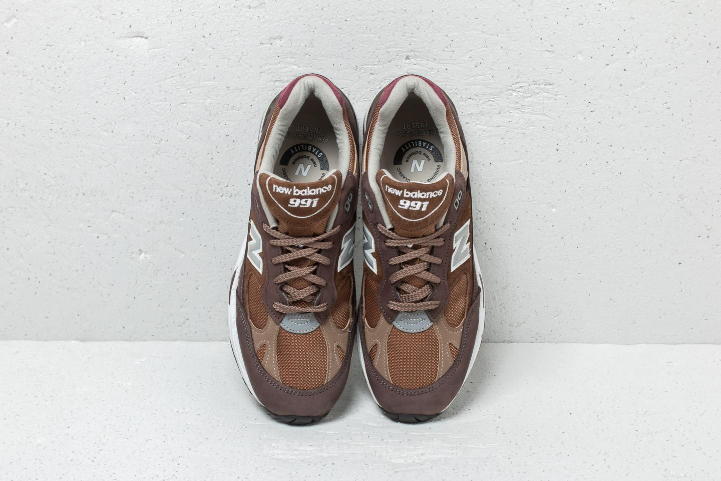 New Balance 991 Brown  Brown at a great price 102 € buy at Footshop 9c265f657a83