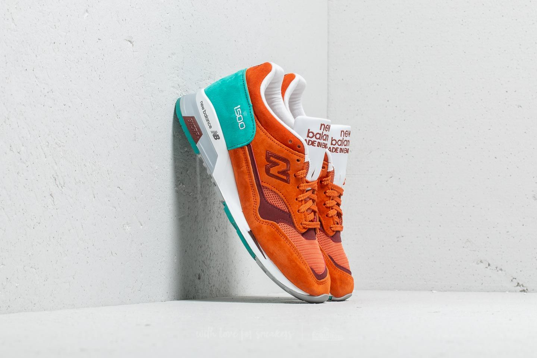 New Balance 1500 Orange/ Turquoise