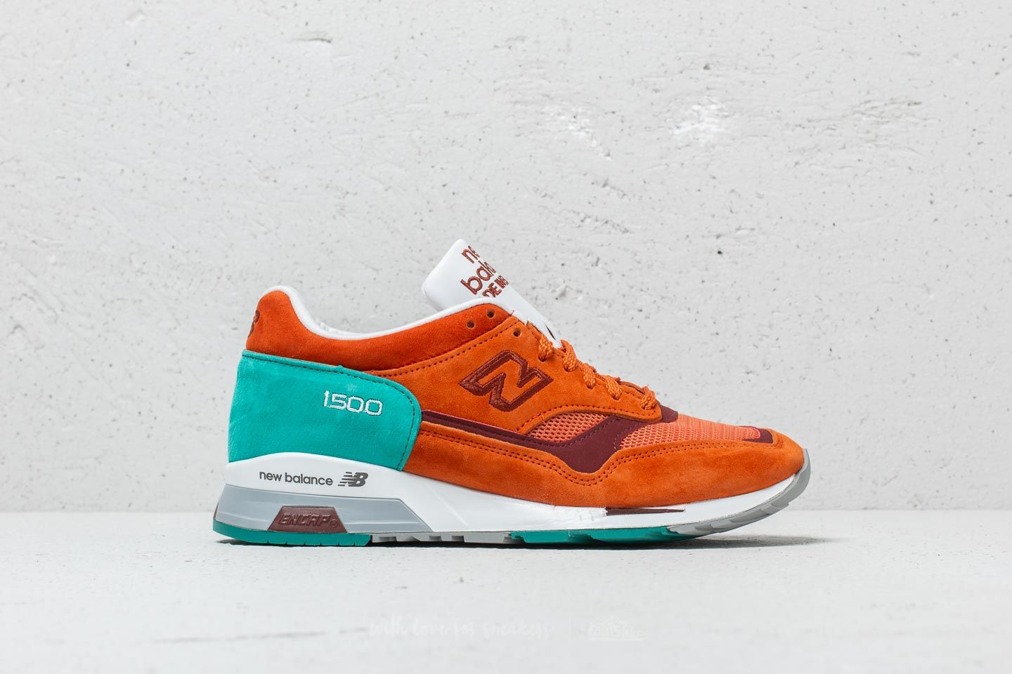 New Balance 1500 Orange  Turquoise at a great price 96 € buy at Footshop 047583ee0be9