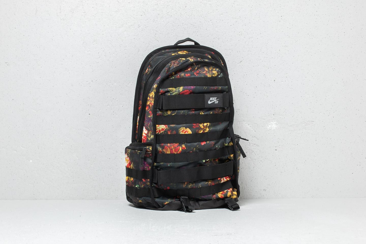 size 40 f2cb8 771f6 Nike SB RPM Graphic Backpack. Floral  Black  Black