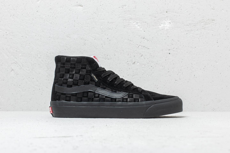 Vans OG SK8 Hi Gore Tex LX (Checkerboard) Black   Footshop