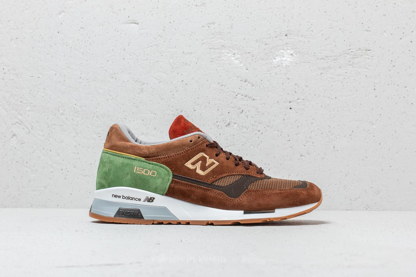 new balance green and brown