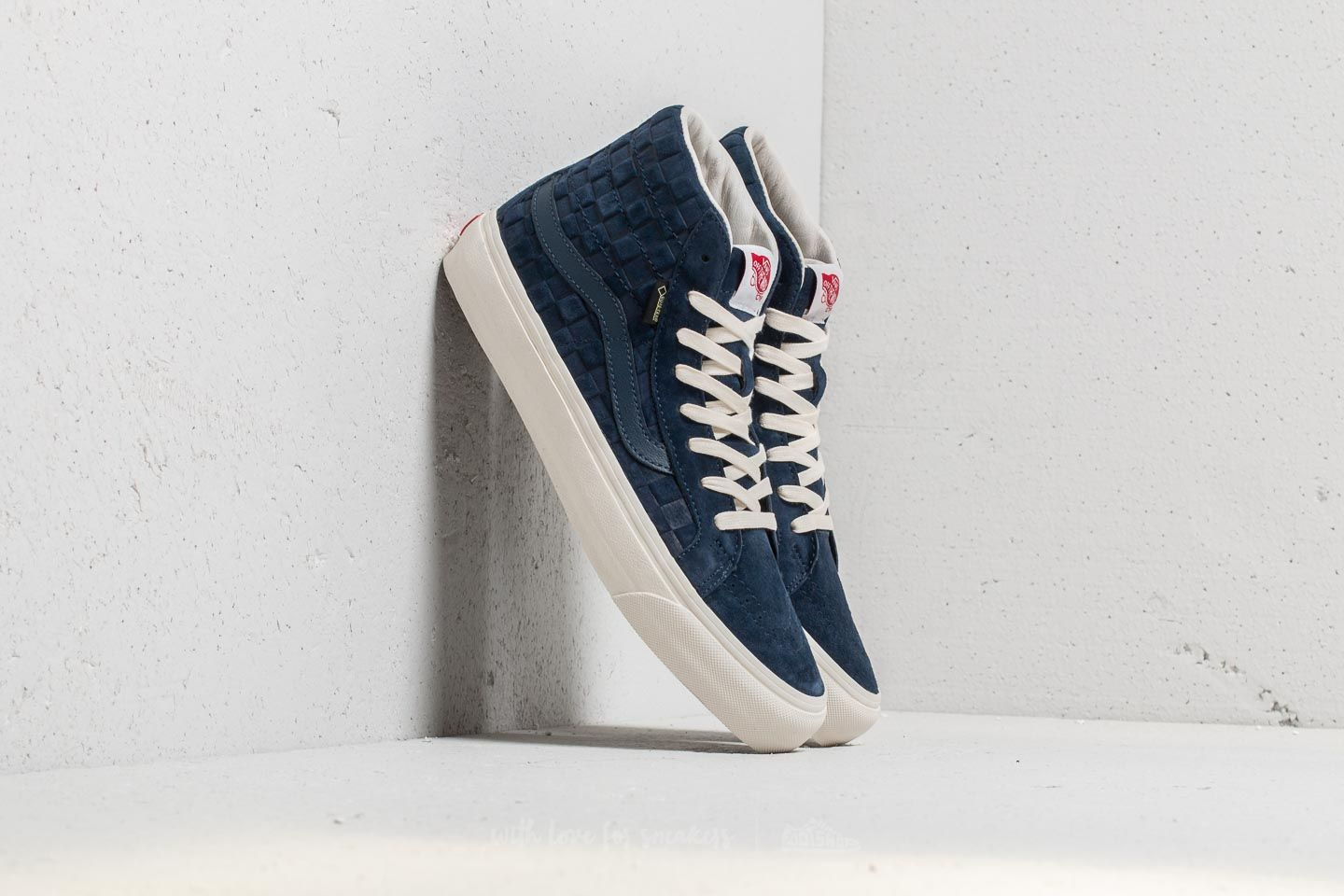 ad2785da75 Vans OG SK8-Hi Gore-Tex LX (Checkerboard) Dress Blue at a