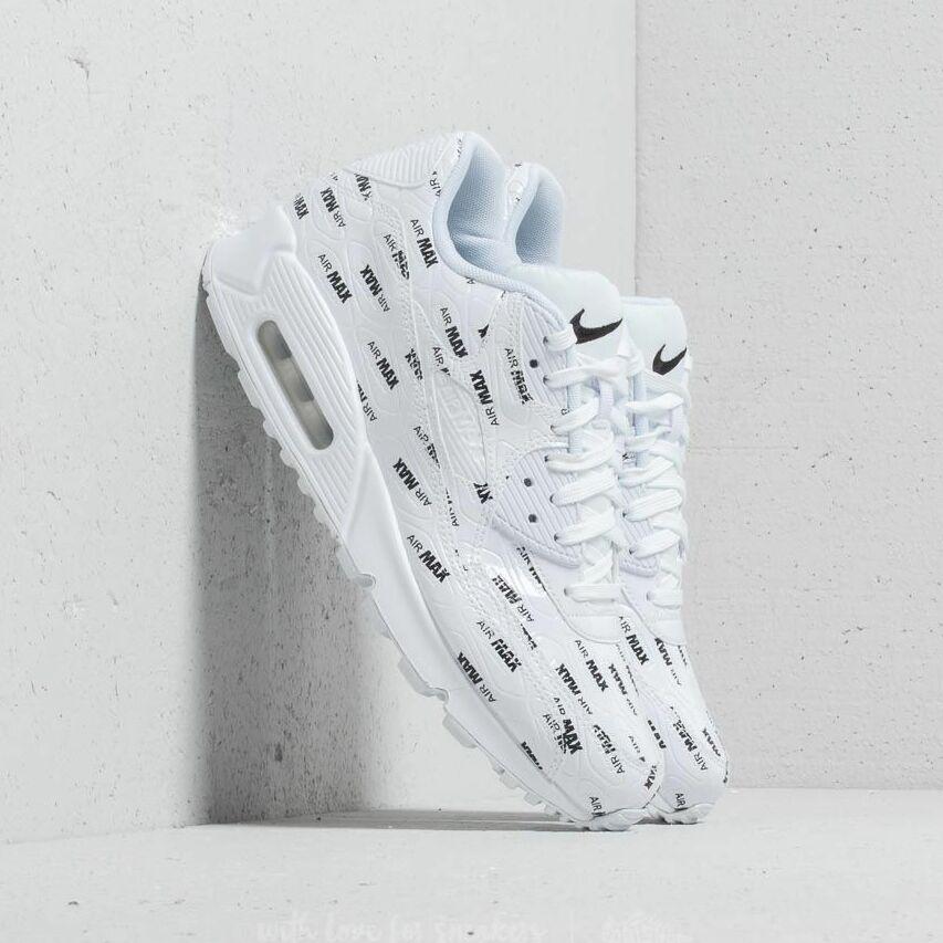 Nike Air Max 90 Premium White/ White-Black EUR 45.5