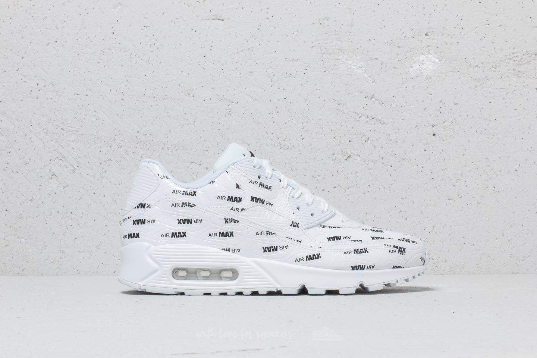 Nike Air Max 90 Premium White  White-Black at a great price 143 € 3d4cac4c9bf3