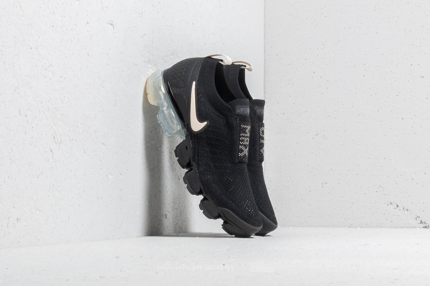 outlet store d1b16 7138b Nike Wmns Air Vapormax Flyknit Moc 2 Black  Light Cream-White at a great