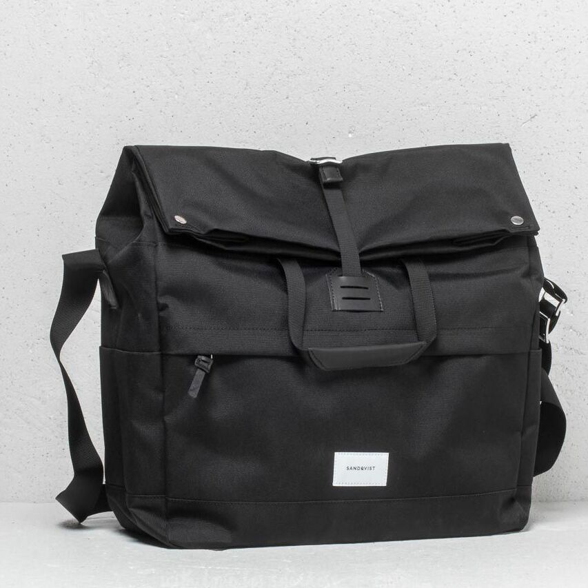 SANDQVIST Tor Multi Deep Backpack Black