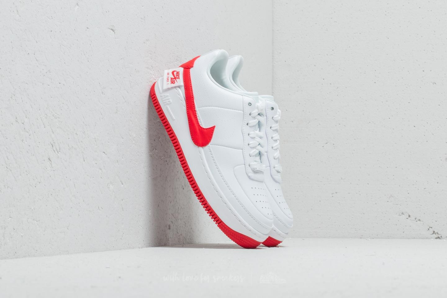 35f11c2d3f Nike Air Force 1 Jester XX Wmns White/ University Red | Footshop