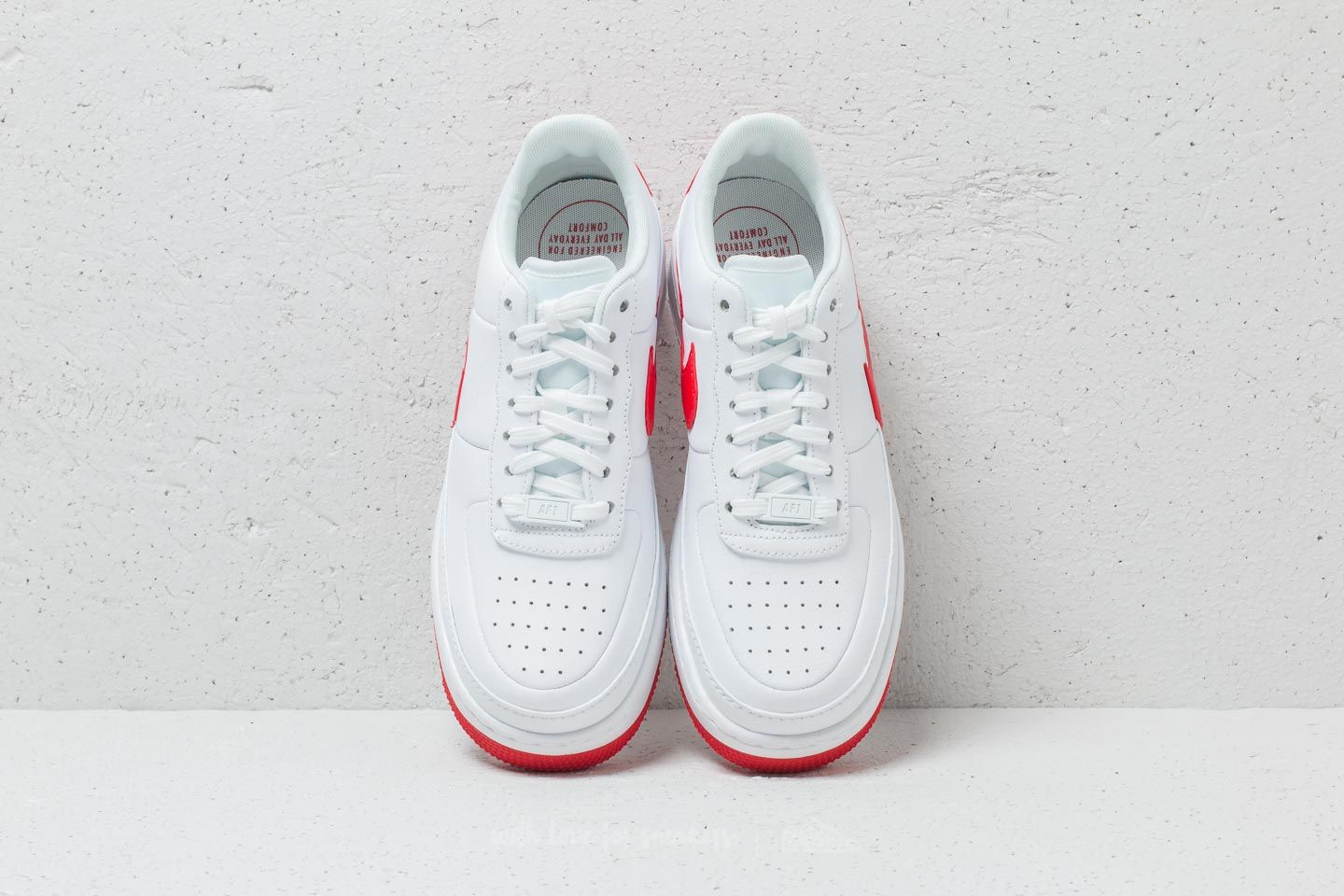 Nike Air Force 1 Jester XX Wmns White University Red | Footshop