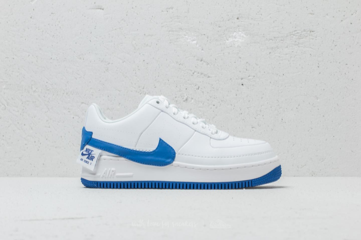 Nike Air Force 1 Jester XX Wmns White Game Royal   Footshop
