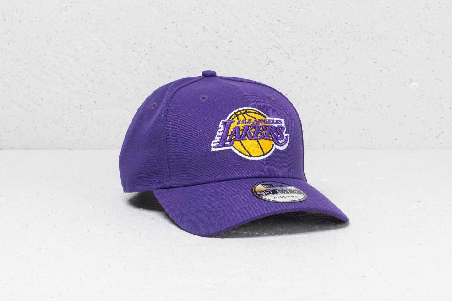 Caps New Era 9Forty Los Angeles Lakers Cap Purple