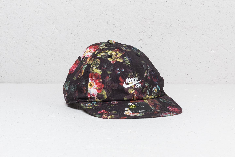 Nike SB Heritage 86 Cap Black  Floral  4adcb3a0a1c
