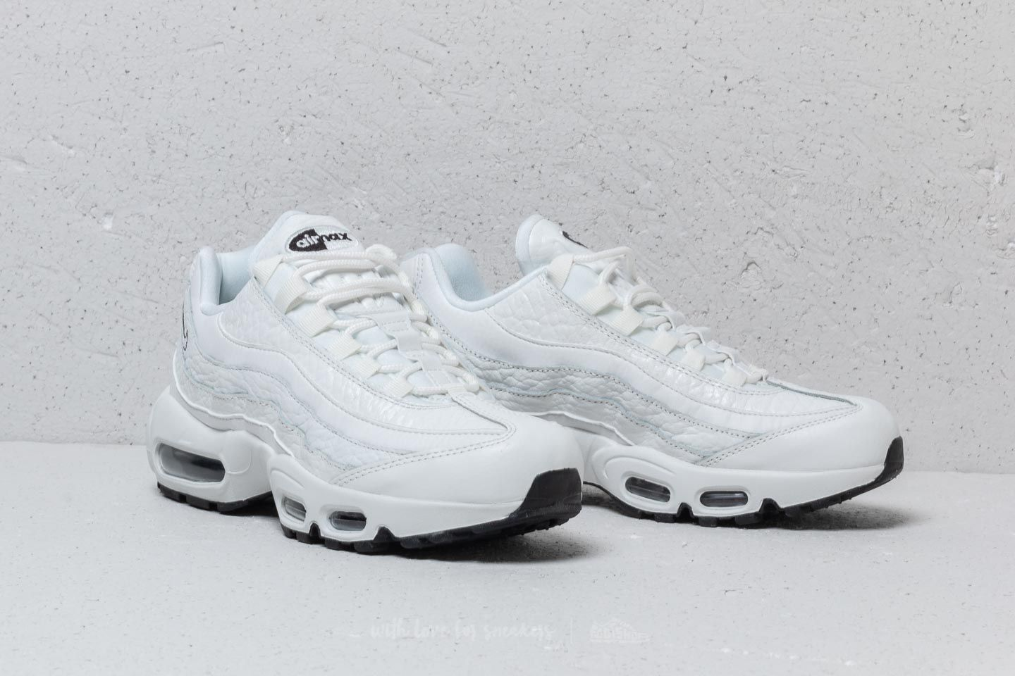 Nike Air Max 95 Leather Wmns Summit White Summit White