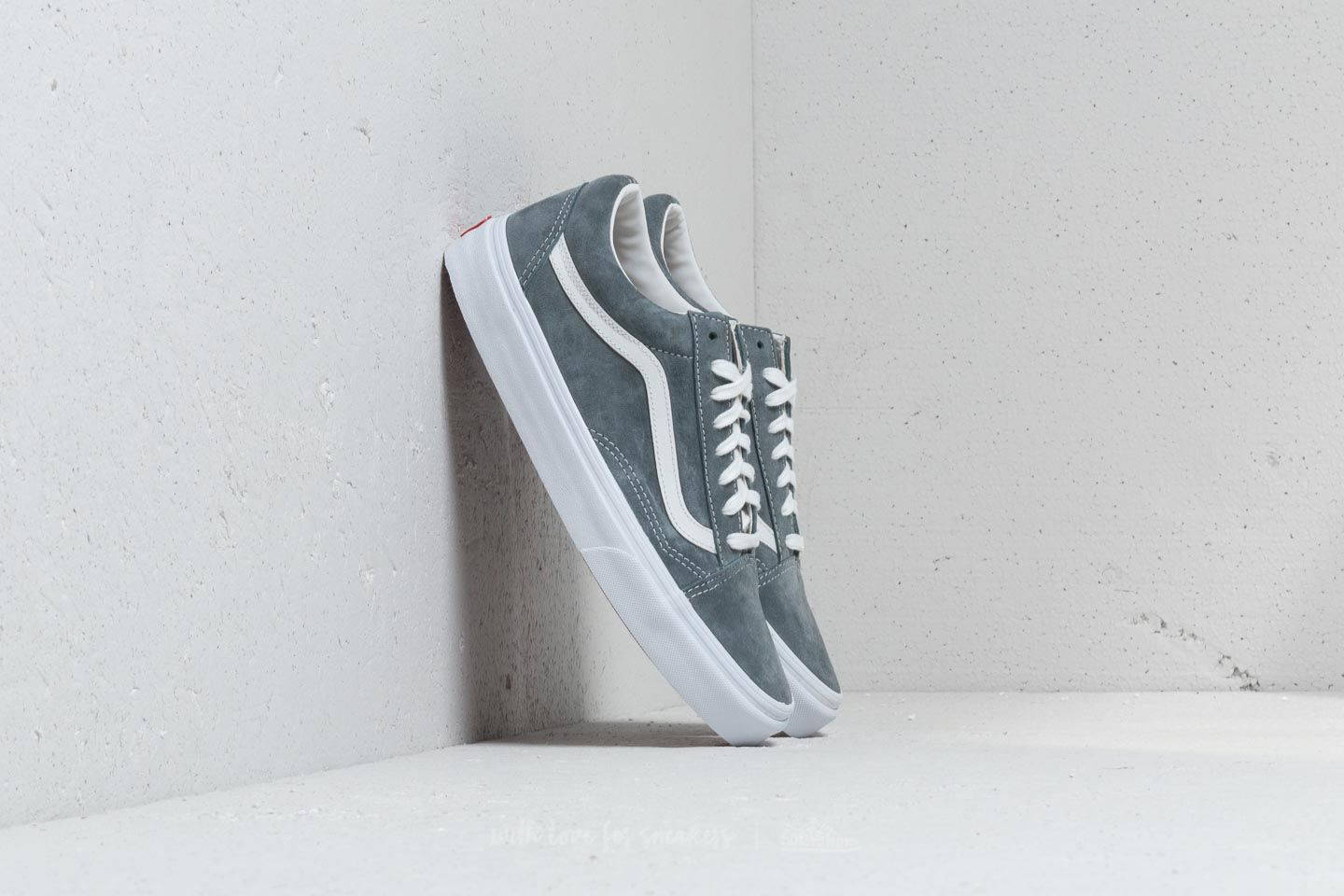 57d57e1daf Vans Old Skool (Pig Suede) Stormy Weather  White at a great price 91