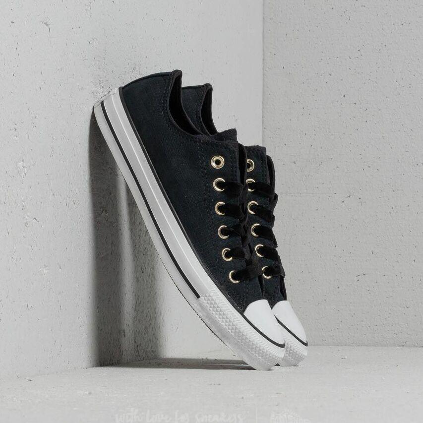 Converse Chuck Taylor All Star OX Black/ Black/ White EUR 40