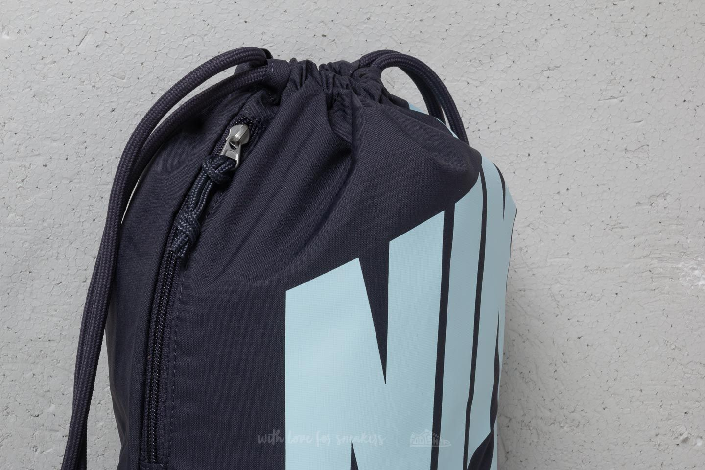 ec4d4d02a5c7 Nike Heritage Drawstring Backpack Gridiron Cobalt Tint at a great price 18  € buy at Footshop