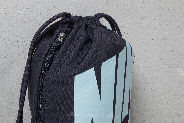 2a1cf779de Nike Heritage Drawstring Backpack Gridiron Cobalt Tint au meilleur prix 13  € Achetez sur Footshop