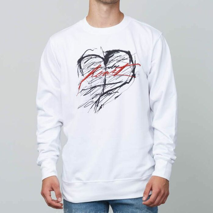 FTSHP x MAXIM Crewneck Sweatshirt White