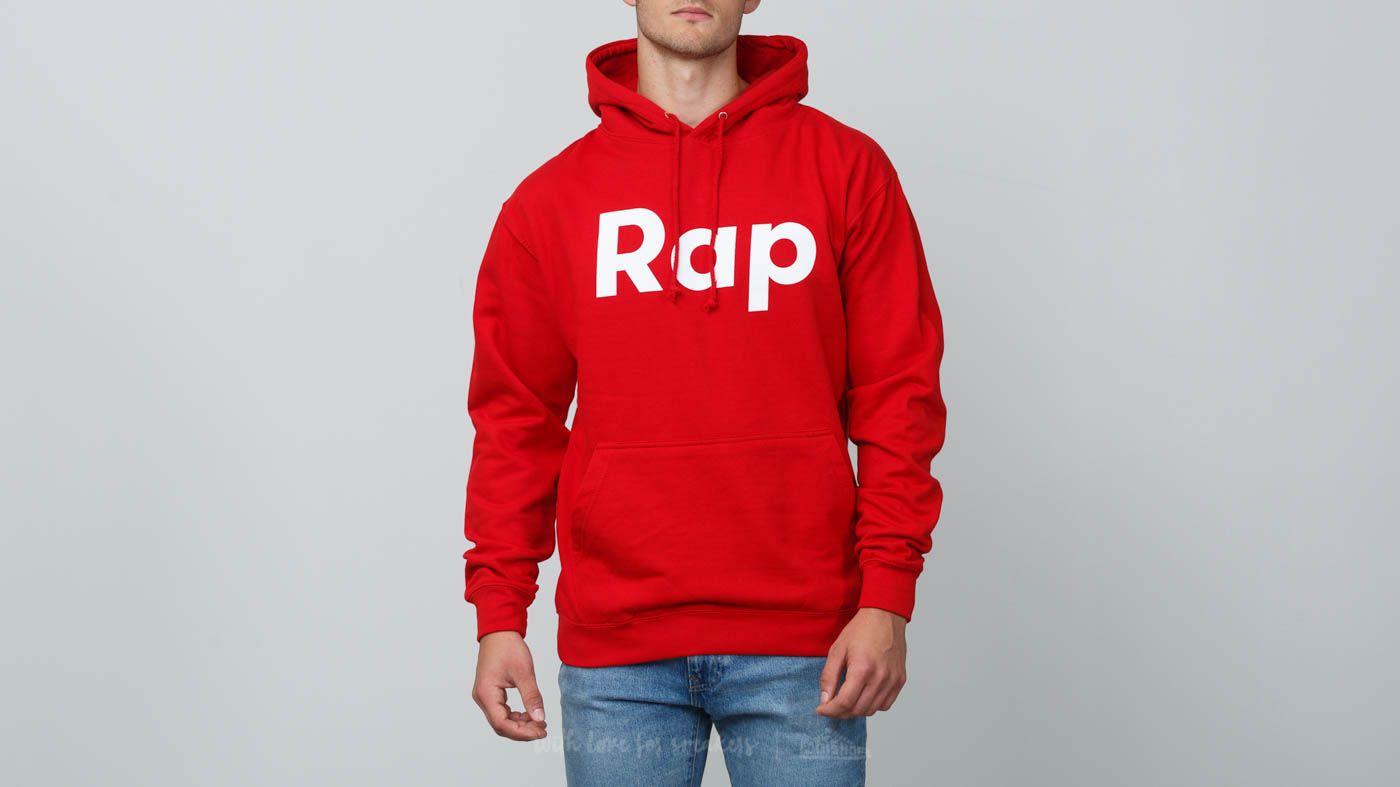 RAP Hoodie Red/ White za skvělou cenu 900 Kč koupíte na Footshop.cz