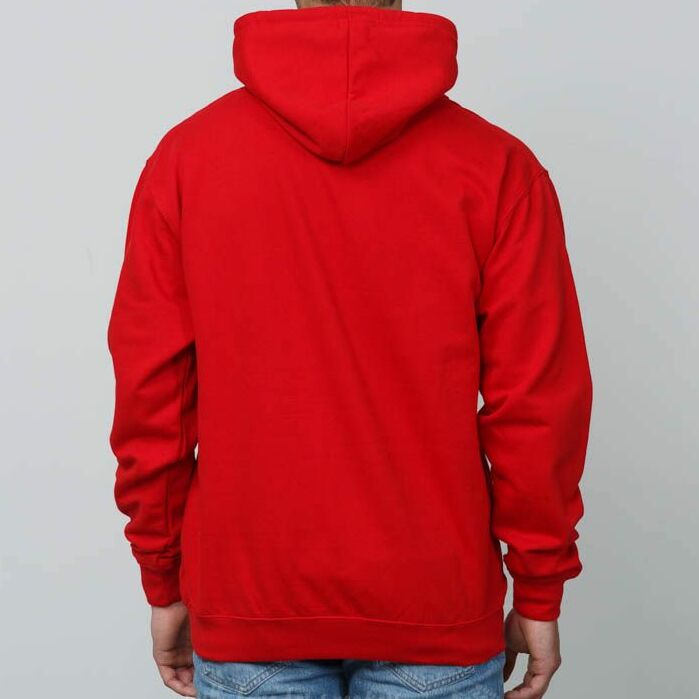 RAP Hoodie Red/ White