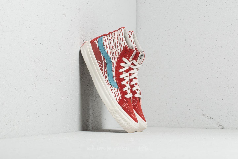 Férfi cipők Vans x John Van Hamersveld OG Sk8-Hi LX (Suede/ Canvas) Bossa Nova