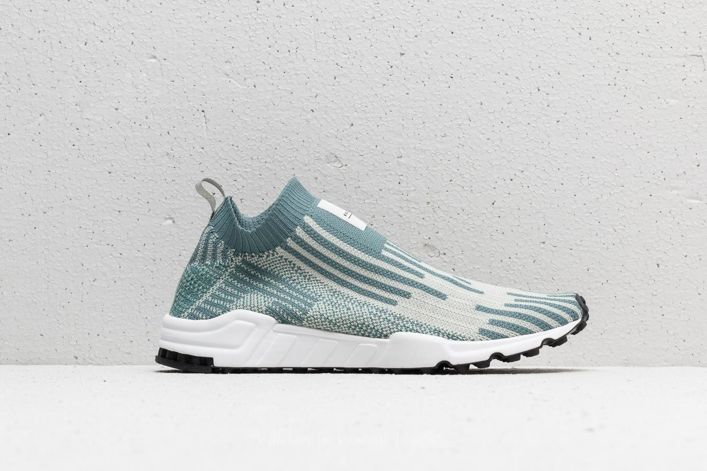 42759867abab adidas EQT Support Sock Primeknit Raw Green  Ash Silver  Core Black at a  great
