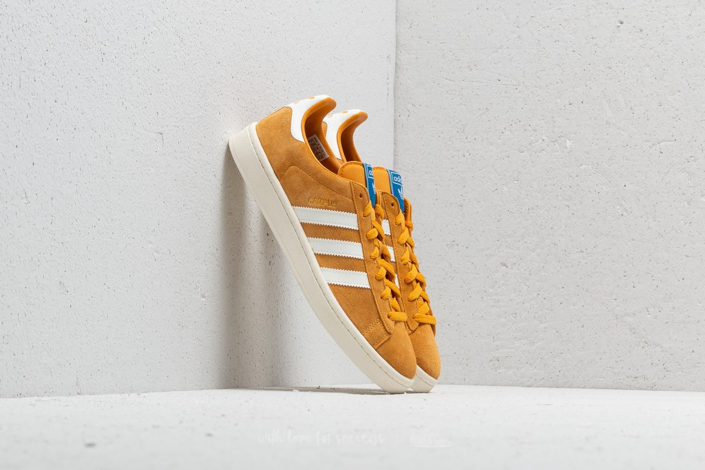 8bd113126dc78c adidas Campus Tactile Yellow  Cloud White  Core White at a great price £86