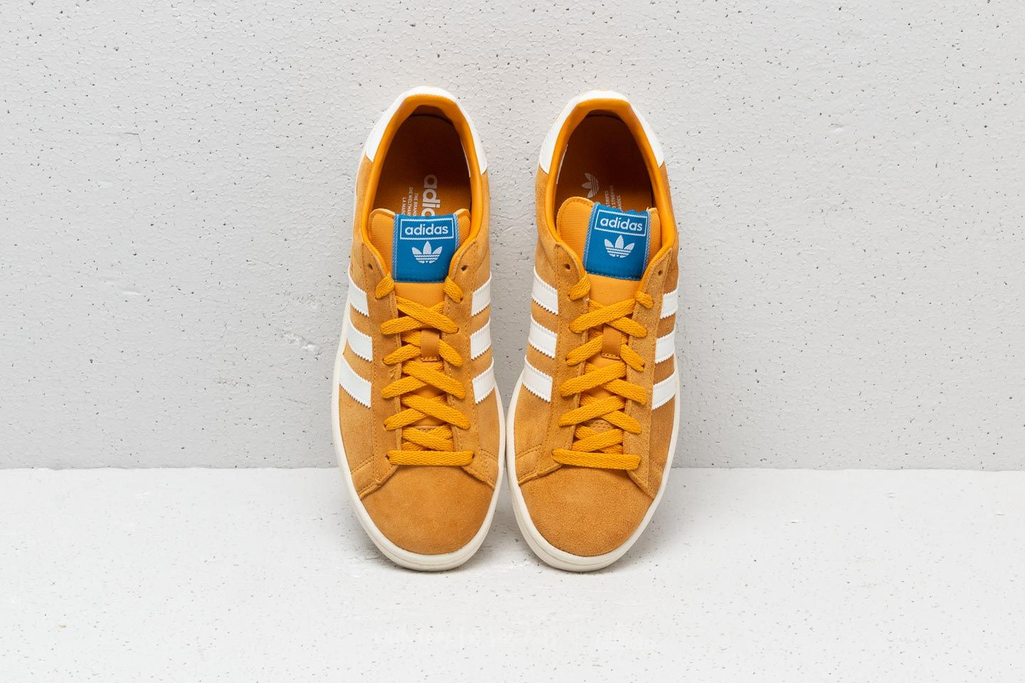 adidas Campus Tactile Yellow  Cloud White  Core White at a great price 99 € 0924d5e16dab