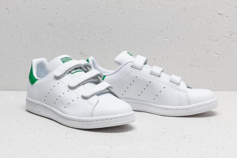 adidas Stan Smith CF J Cloud White  Cloud White  Cloud White   Footshop 687fd513f9