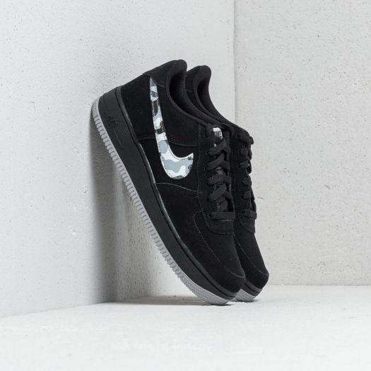 Nike Air Force 1 (GS) Black Wolf Grey Dark Grey | Footshop