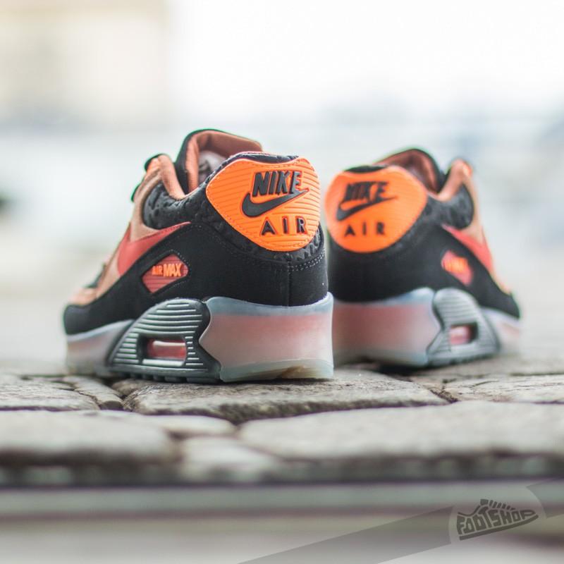 Nike Air Max 90 ICE HW QS BlackTean Red Cognac Ttl Orange | Footshop