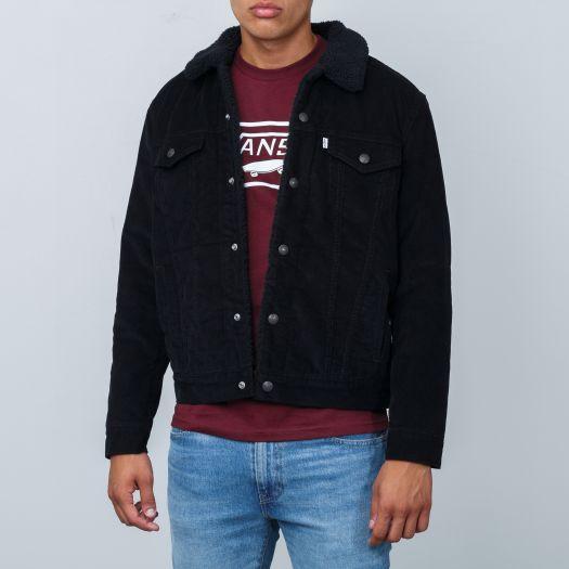 Levi's ® Type 3 Sherpa Trucker Jacke black:
