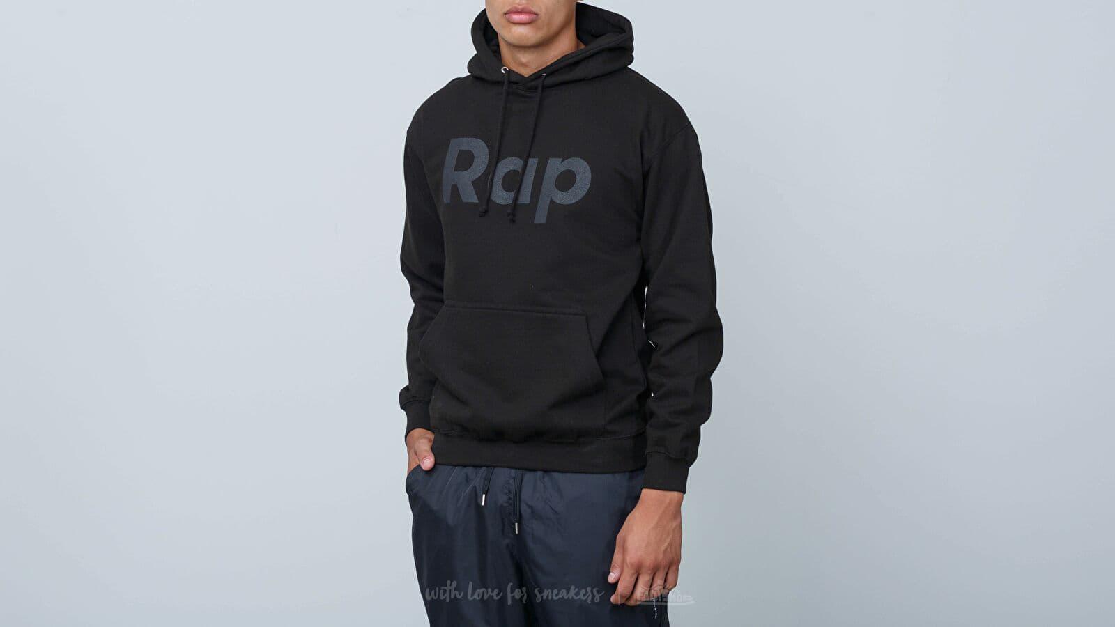 Sweatshirts RAP Hoodie Black/ Black