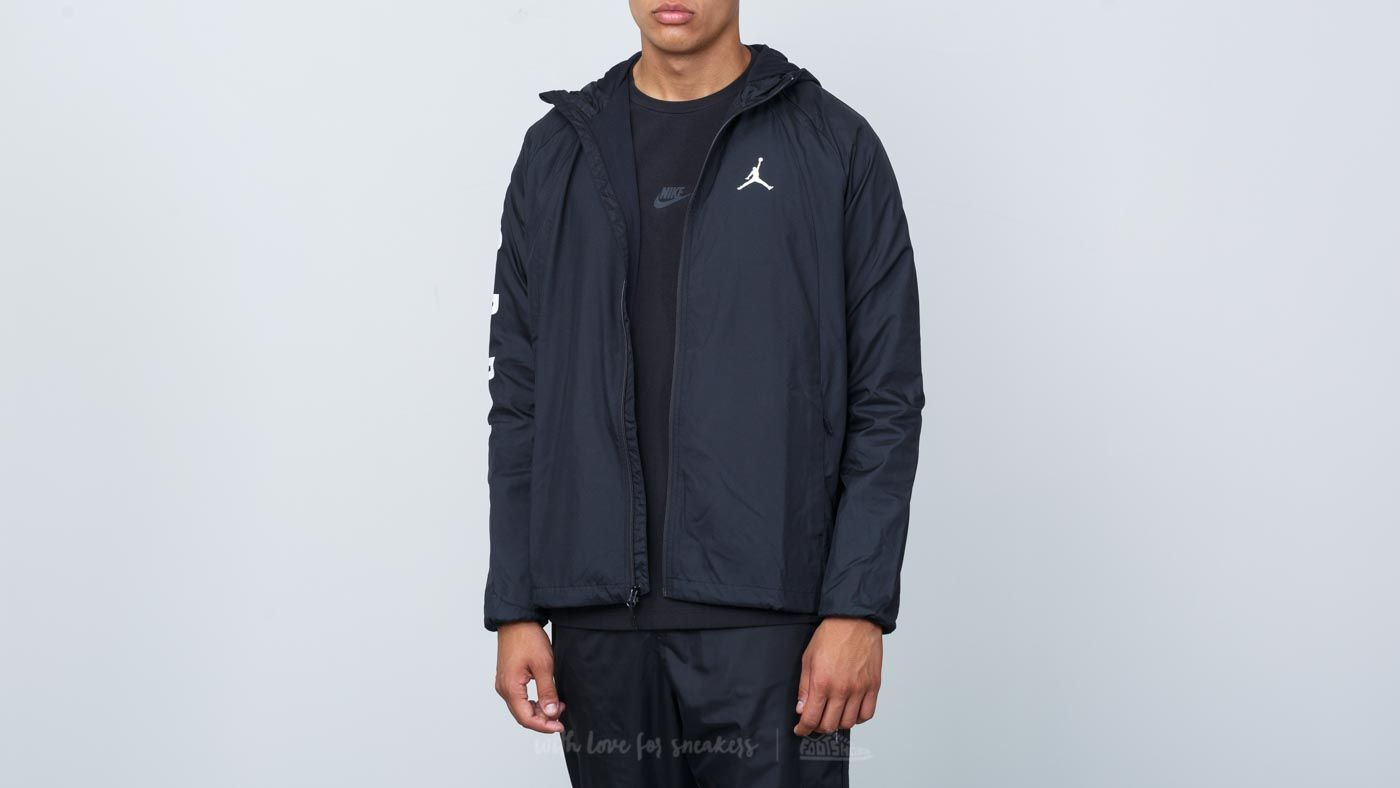 f8ed0971d Jordan Sportswear Wings GFX Windbreaker Jacket Black | Footshop