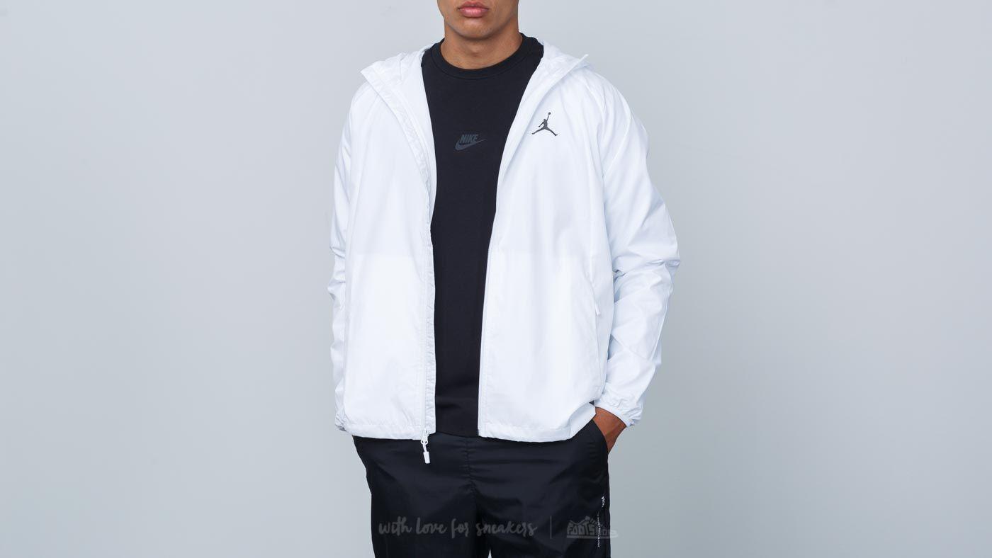 4d5956cca3c8 Jordan Sportswear Wings Windbreaker Jacket White  Black