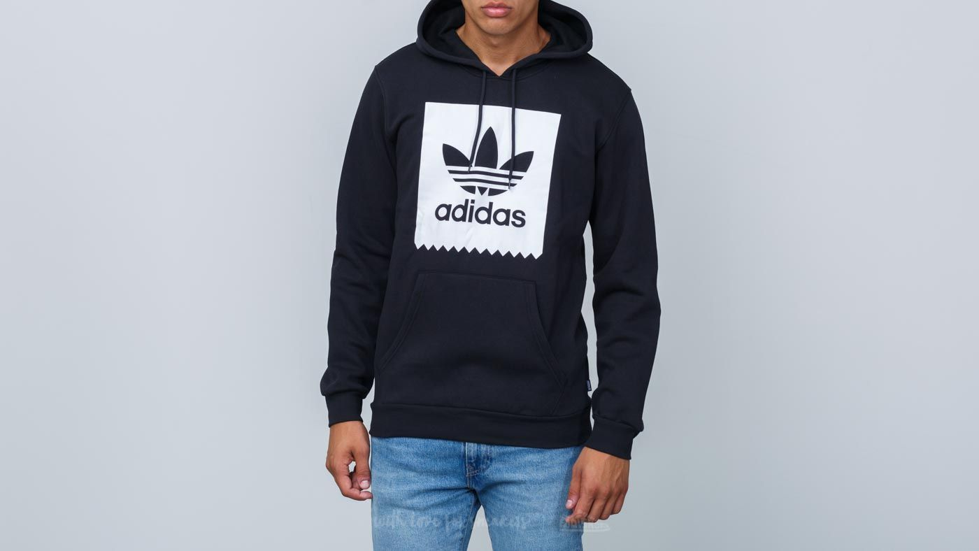 adidas Trefoil Solid Hoodie Black/ White za skvělou cenu 1 390 Kč koupíte na Footshop.cz