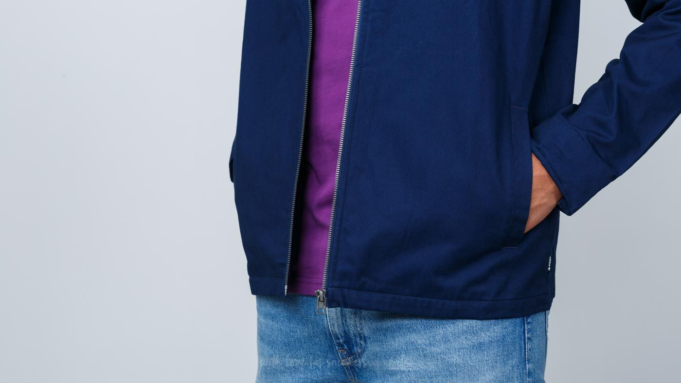 dc6e8376004 adidas Ankeny Jacket Collegiate Navy/ White | Footshop