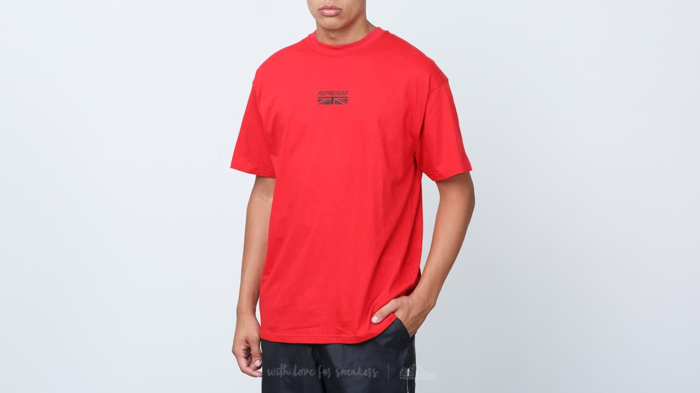 REPRESENT Shortsleeve Logo Tee Red at a great price 57 € buy at Footshop