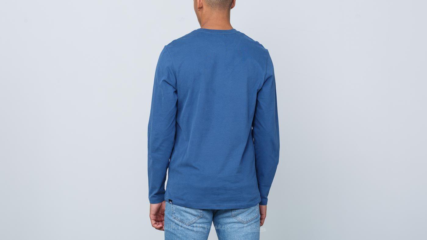 a4346601bc The North Face Fine Longsleeve Tee Shady Blue au meilleur prix 23 € Achetez  sur Footshop