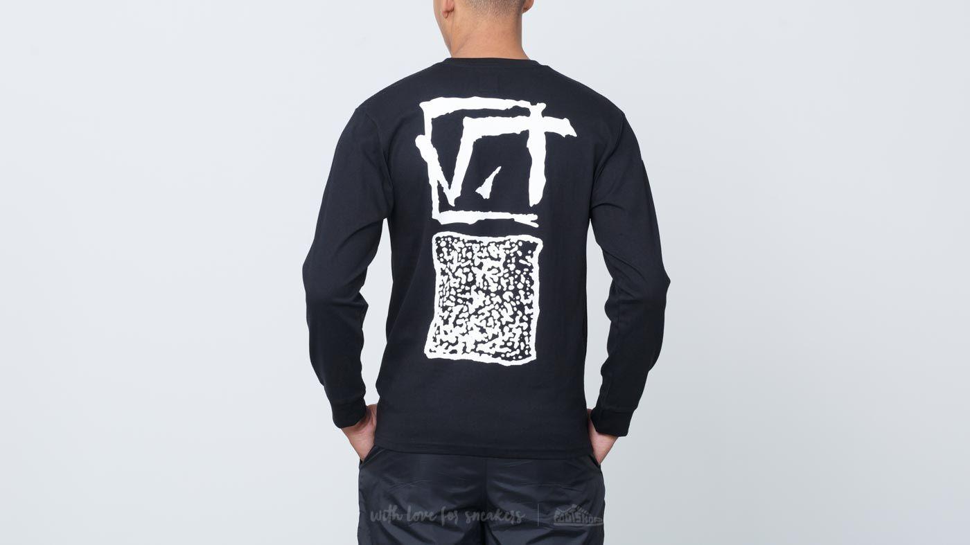 df655820ab Vans Square Root Longsleeve Tee Black | Footshop