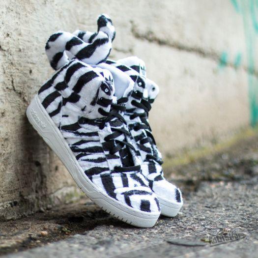 adidas Jeremy Scott White Tiger Ftwr White Footshop    adidas Jeremy Scott White Tiger Ftwr White   title=          Footshop