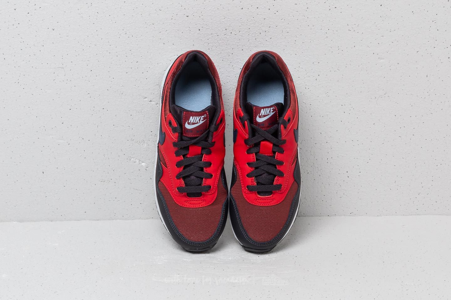 nike AIR MAX 1 (GS) ROUGH REDMIDNIGHT NAVY UNIVERSITY RED