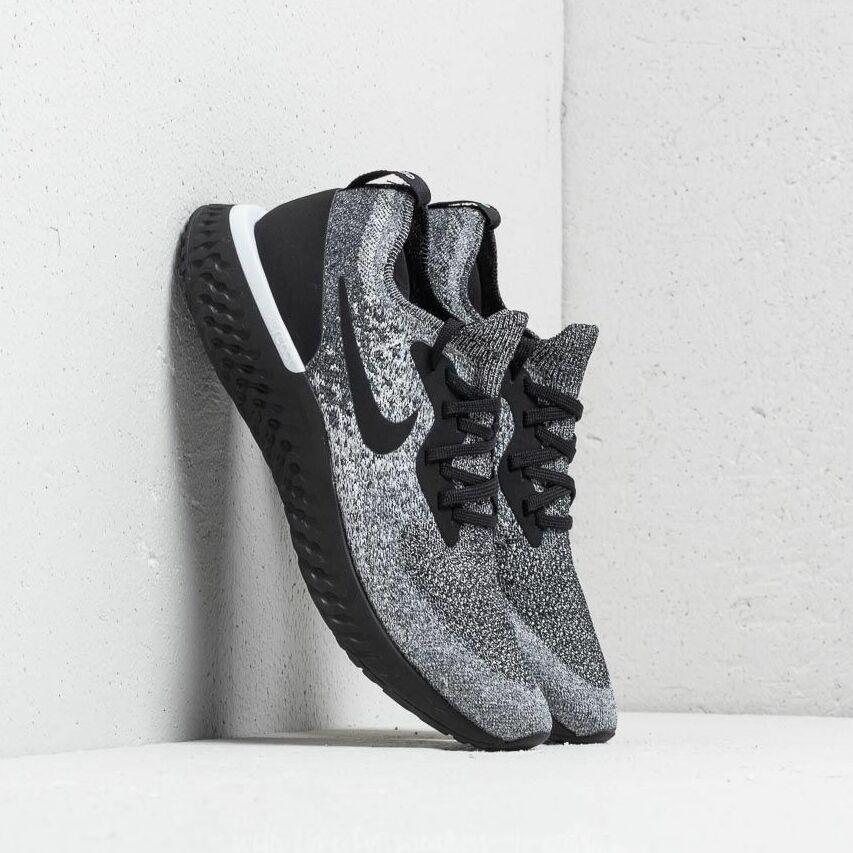 Nike Epic React Flyknit Black/ Black-White EUR 41