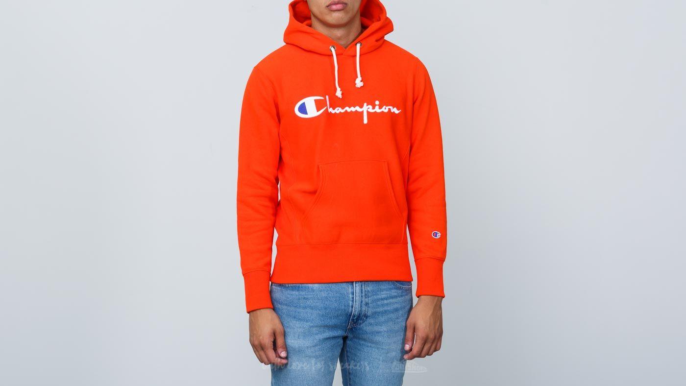 Champion Hoodie Fire Orange za skvělou cenu 2 840 Kč koupíte na Footshop.cz