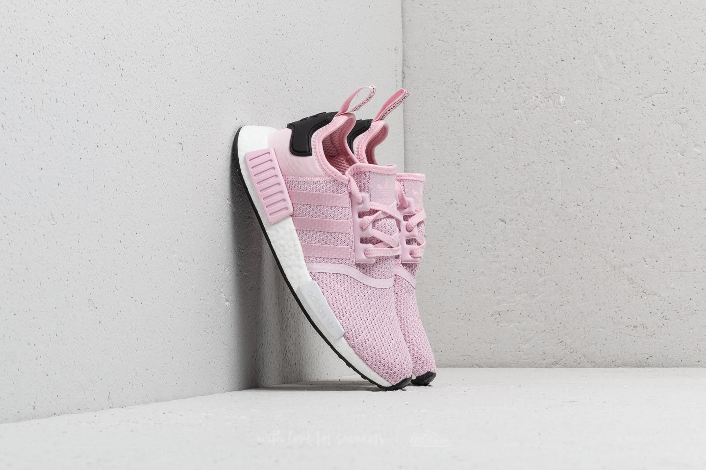 119a62a53 adidas NMD R1 W Clear Pink  Ftw White  Core Black