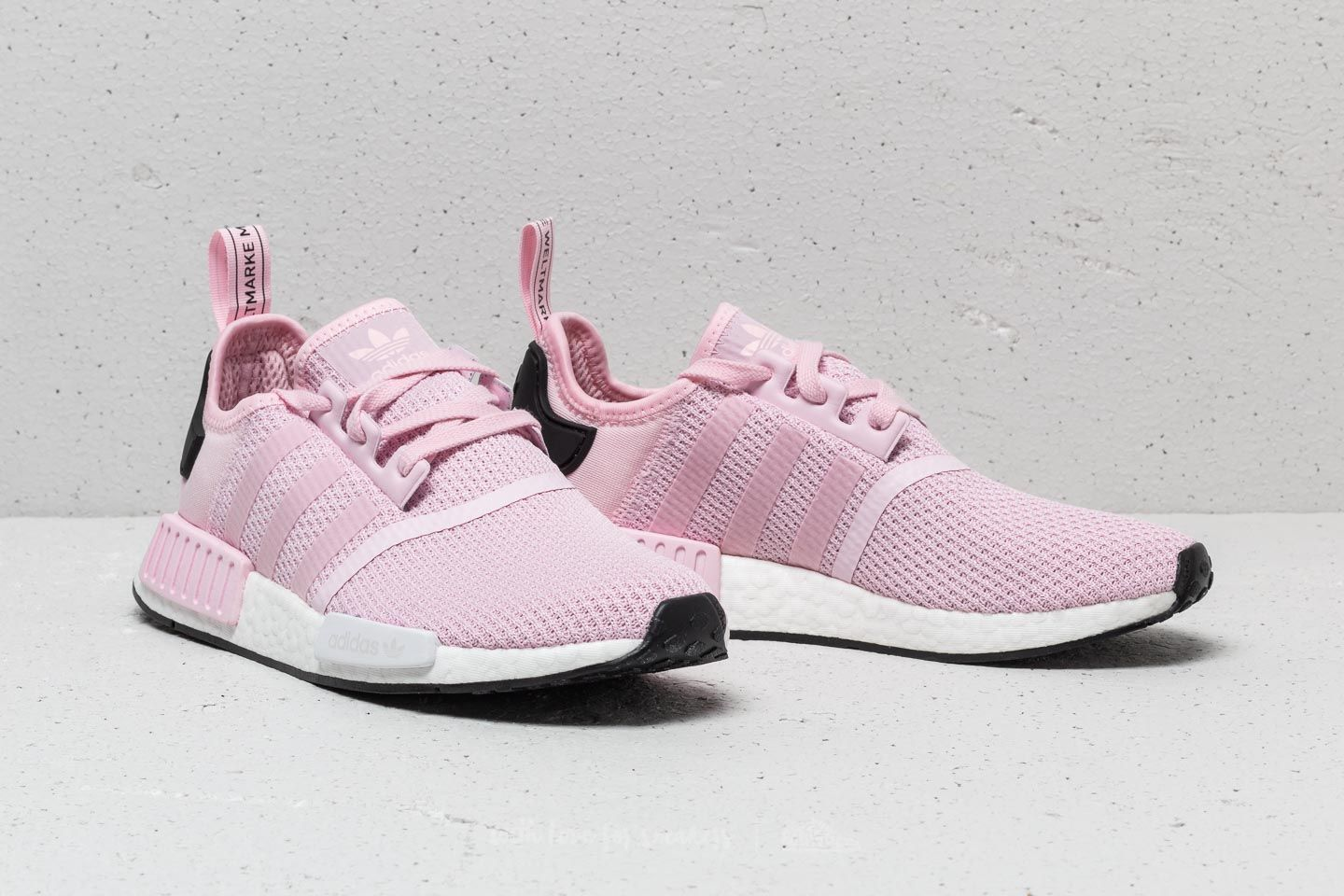 innovative design 8d22f 8d945 adidas NMD_R1 W Clear Pink/ Ftw White/ Core Black   Footshop
