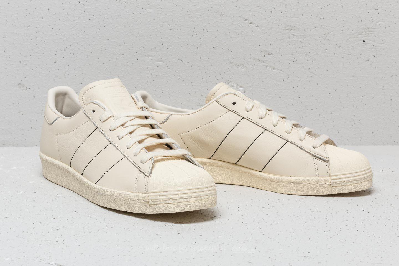 Cream 77 Adidas un ad prezzo White ottimo Superstar 80s q8xa8wPE