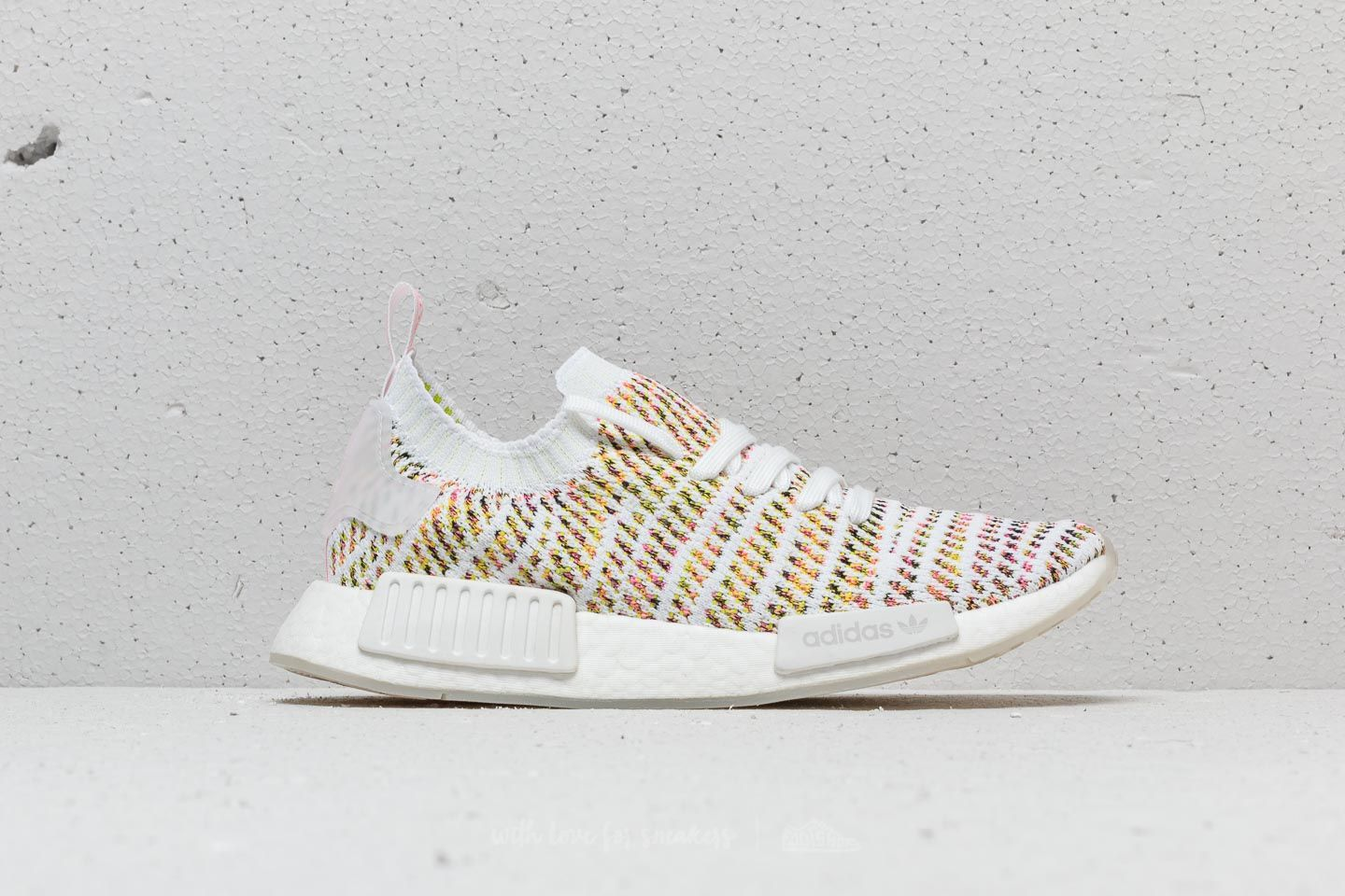 ddfa47fef adidas NMD R1 W Cloud White  Semi-Solar Yellow-Solar Pink at a great