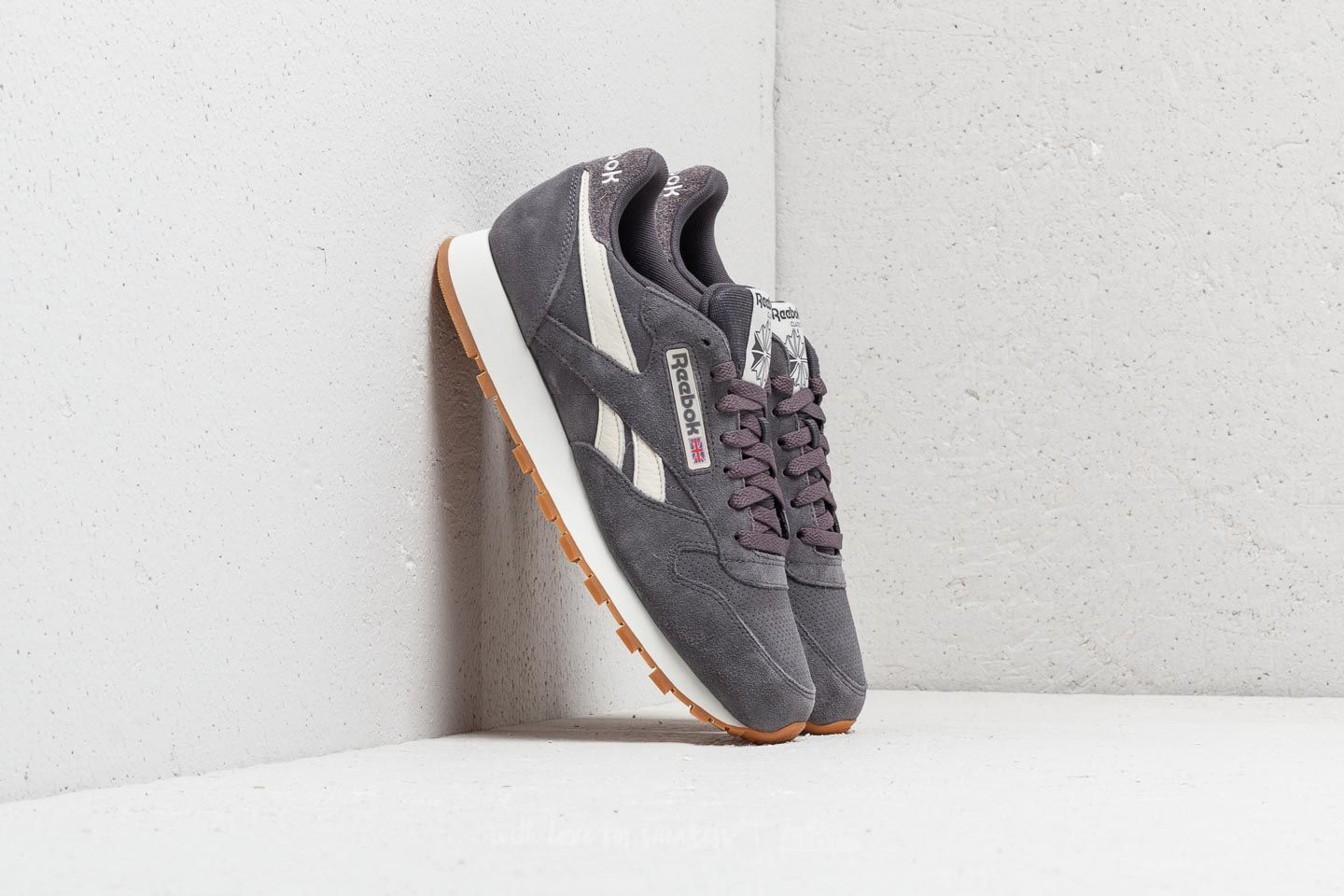 2c387701ee43b Reebok Classic Leather MU Ash Grey  Chalk  Gum at a great price £47