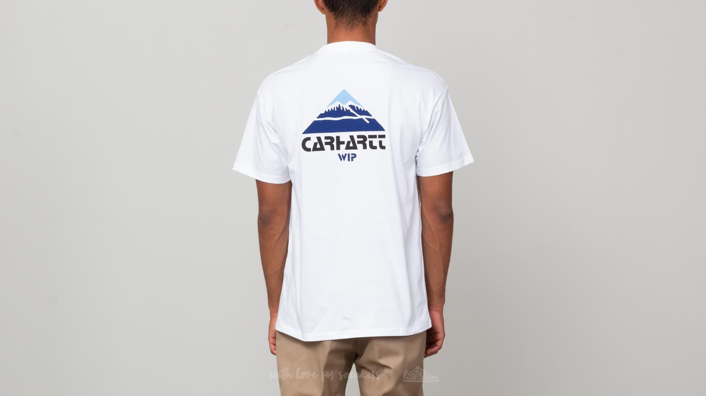 Carhartt WIP Mountain Shortsleeve Tee White at a great price £29 buy at  Footshop 63785766f